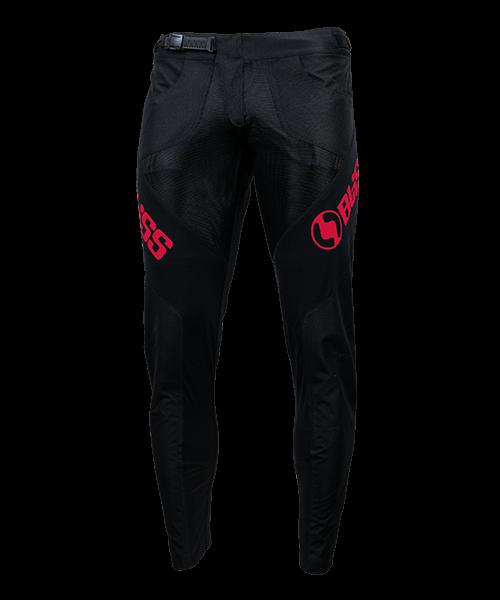 TEAM PANTS, BLACK/RED